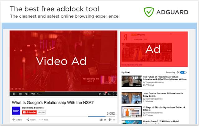 Adguard Adblocker - 10 Add-ons Browser Terbaik