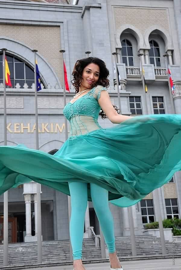 tamanna bhatia hot legs sexy pictures from venghai movie
