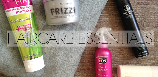 MY HAIRCARE ESSENTIALS