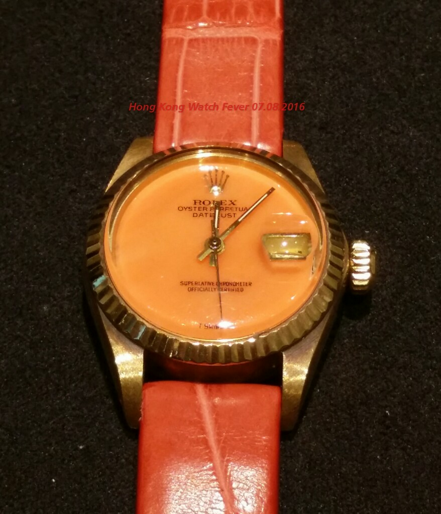 f4881790800 Hong Kong Watch Fever 香港勞友  Rare Rolex Dial on Day Date and Date ...