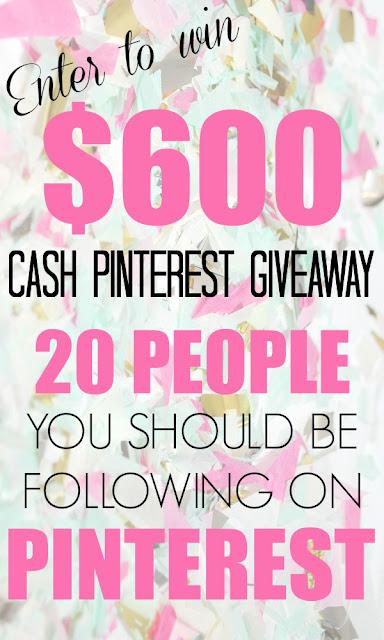 $600 cash pinterest giveaway (sweetandsavoryfood.com)