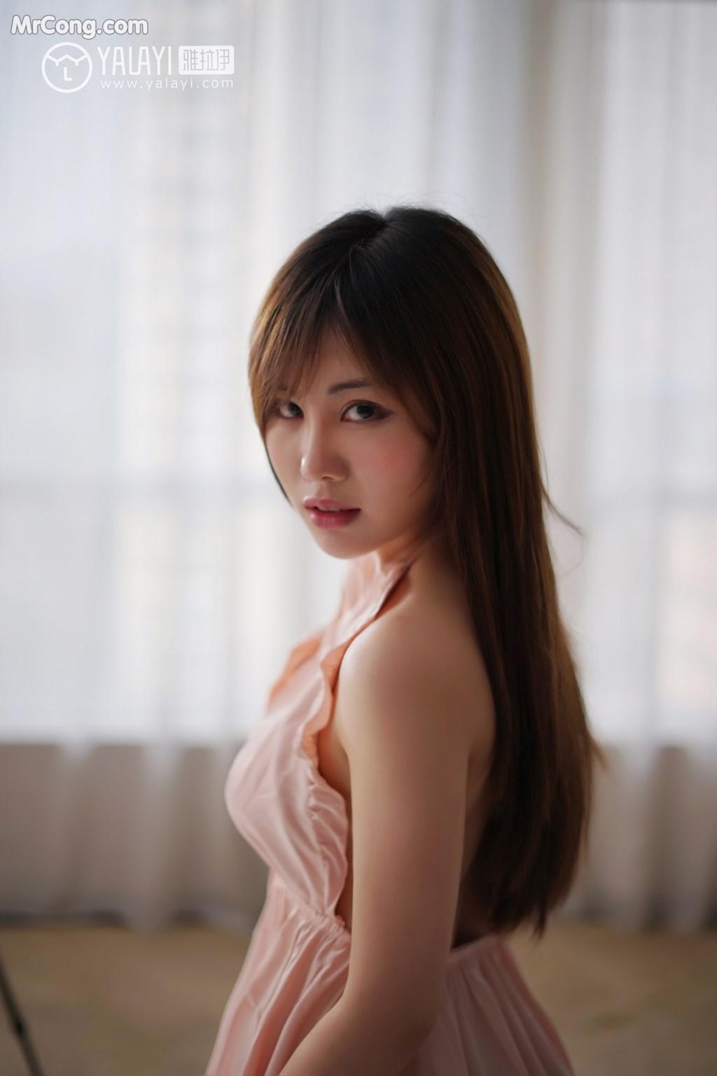Image YALAYI-No.008-MrCong.com-004 in post YALAYI No.008: 艾妮妮 (36 ảnh)