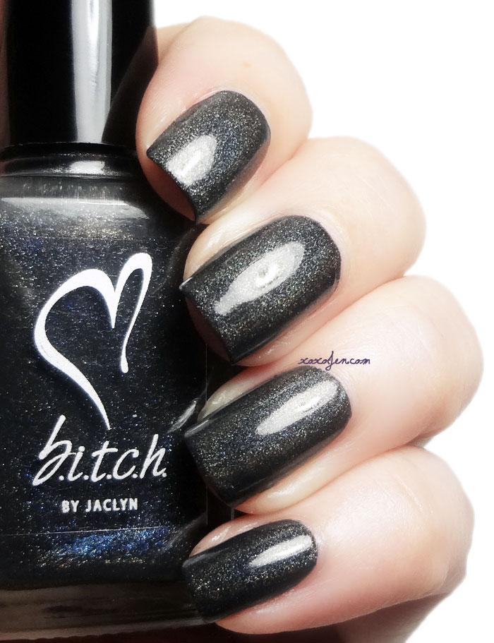 xoxoJen's swatch of B.i.t.c.h. Gutter Bitch