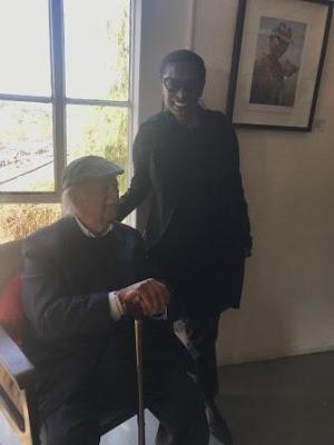George Bizos with Mokgadi Molebatsi