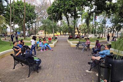 Santiagueros regresan a sus parques ¨Los Chachaces¨