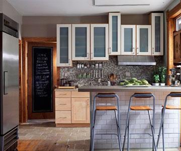 Modern Furniture Small Kitchen New Decorating Ideas 2012