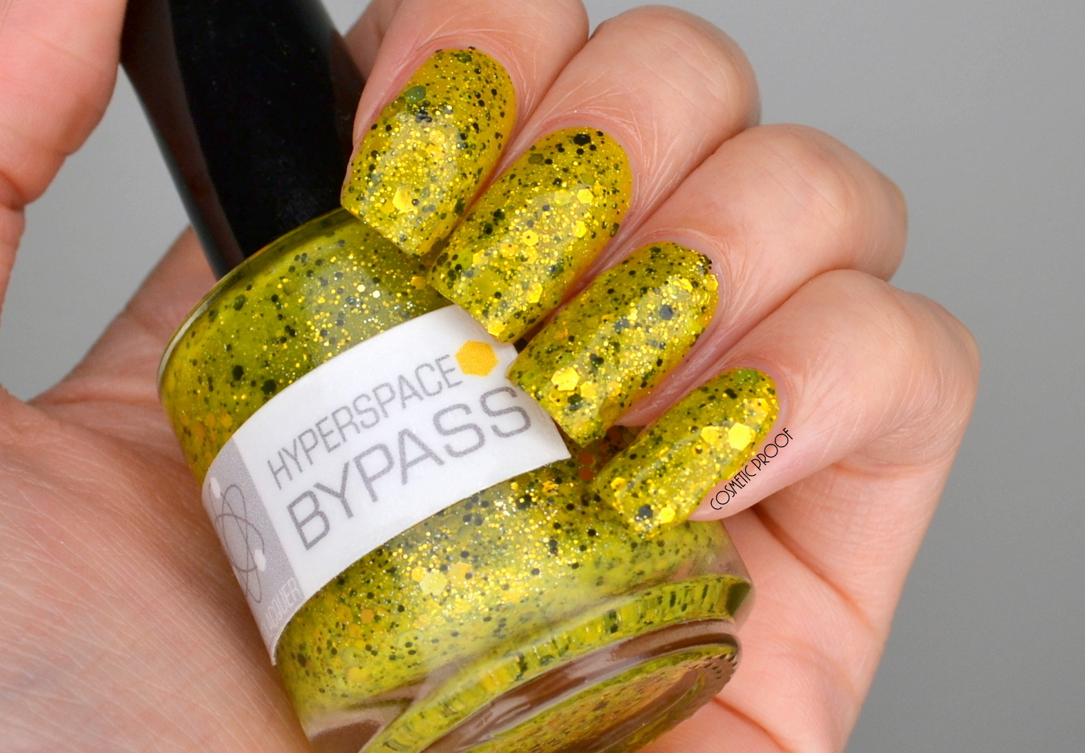 NAILS | Nerd Lacquer - Hyperspace Bypass Swatch & Review - Cosmetic
