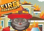 Talking Tom Fire Emergency