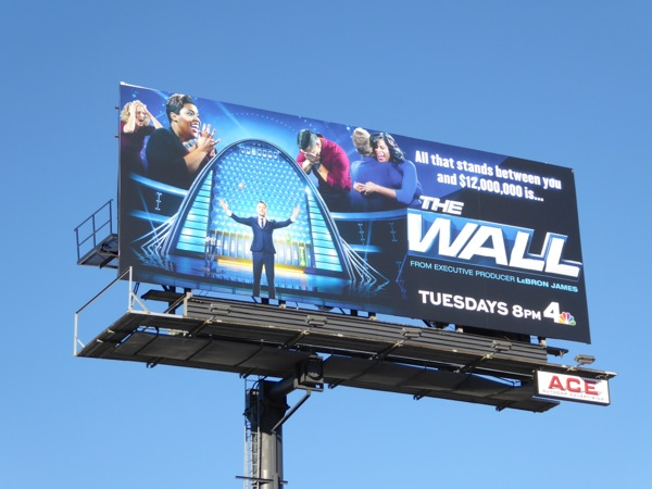 The Wall series premiere billboard