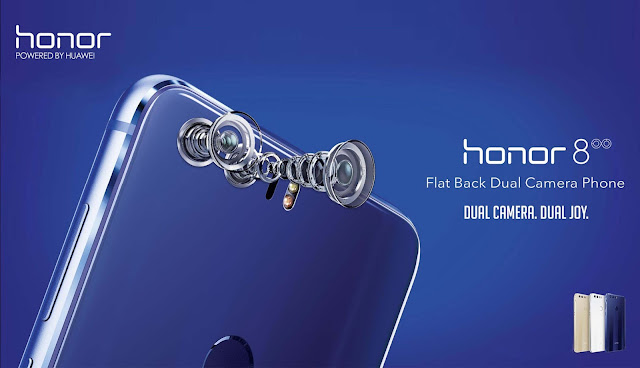 Honor 8 with 4GB RAM + 32GB ROM Price & Technical Specification