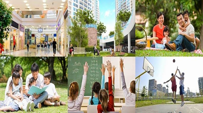 Không gian rộng rãi, tràn ngập ánh sáng, tiện nghi hiện đại và đẳng cấp tại chung cư One18