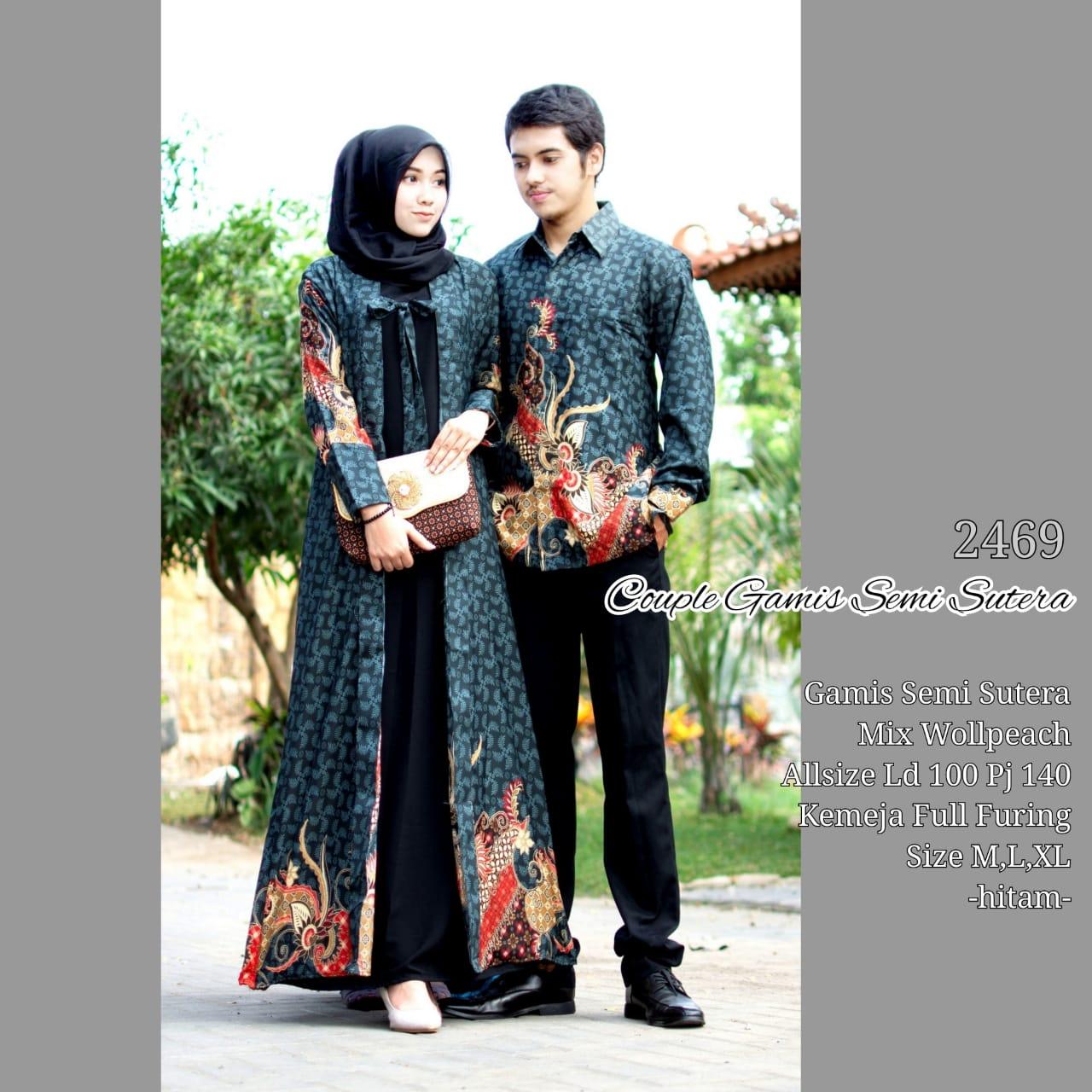 Baju Couple Batik Pesta: Batik Bagoes Solo