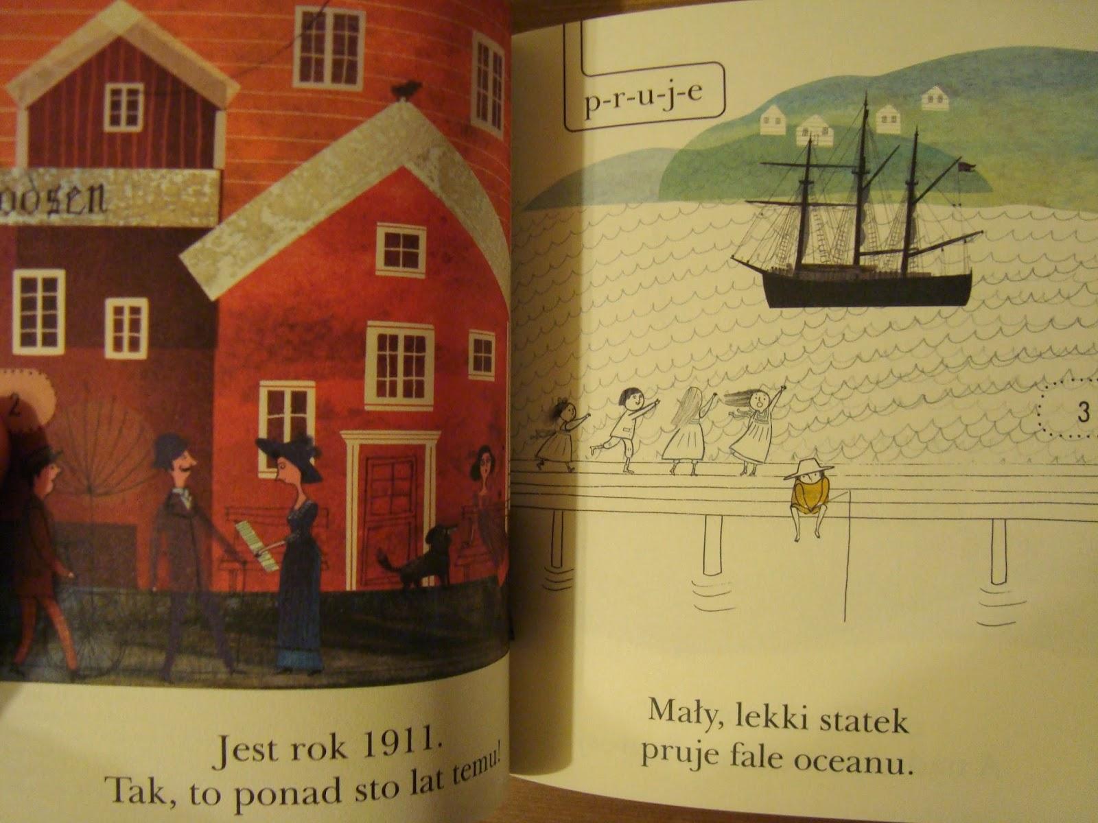 Wyprawa na biegun, Amundsen, czytam sobie, fakty, recenzja, egmont