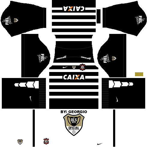 Dream League Soccer Kits Corinthians 1516 Dls16 Fts