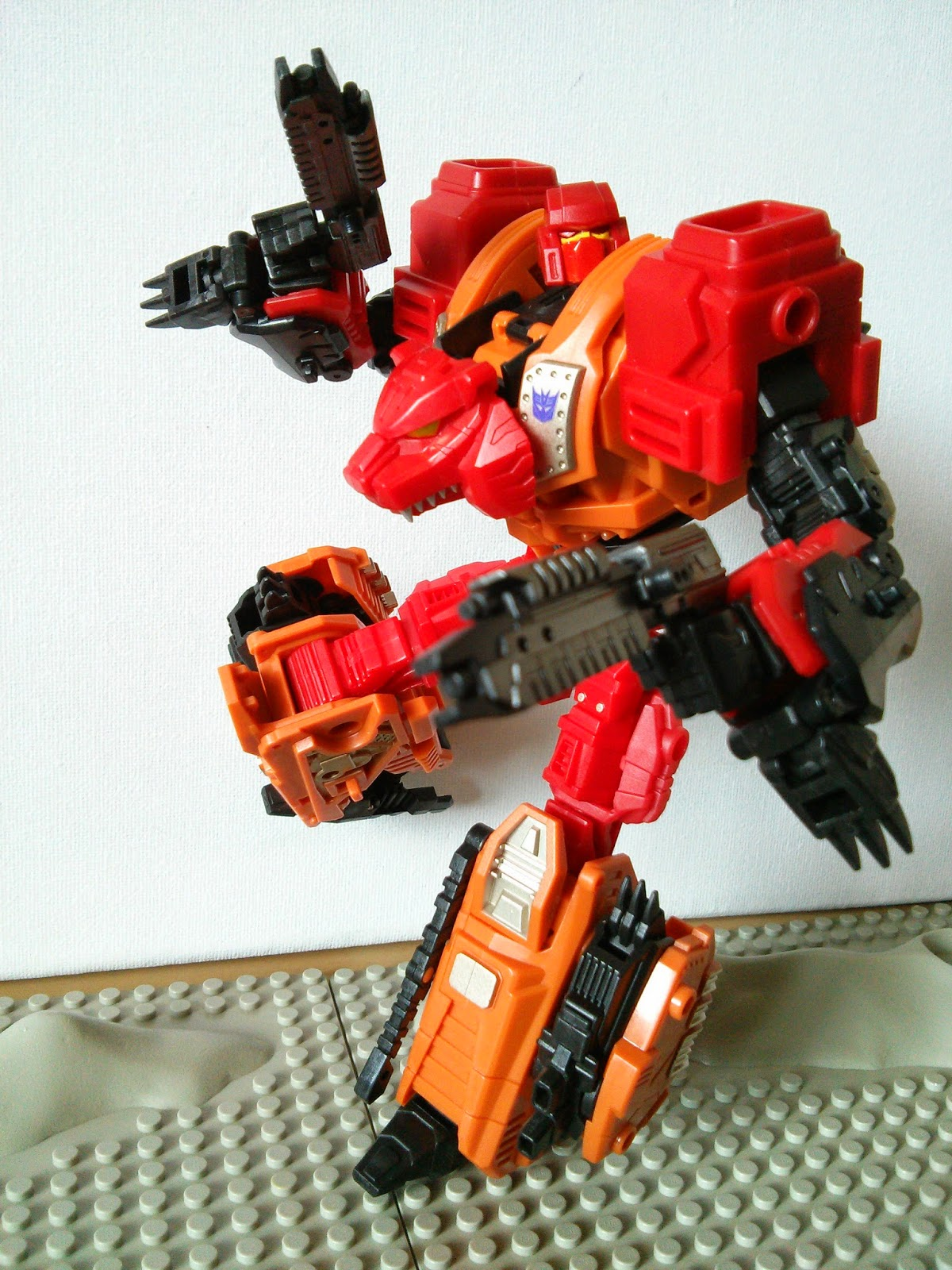 The arm of Feral Rex