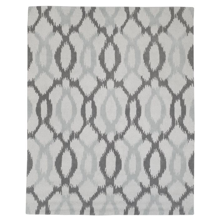 Ikat Links Rug West Elm
