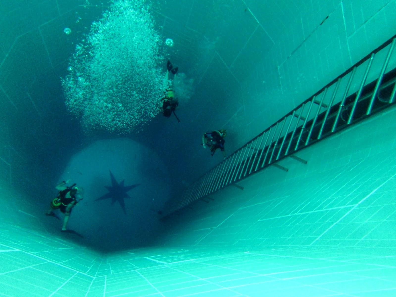 Amazing Belgium Nemo 33 A Very Deep Swimming Pool