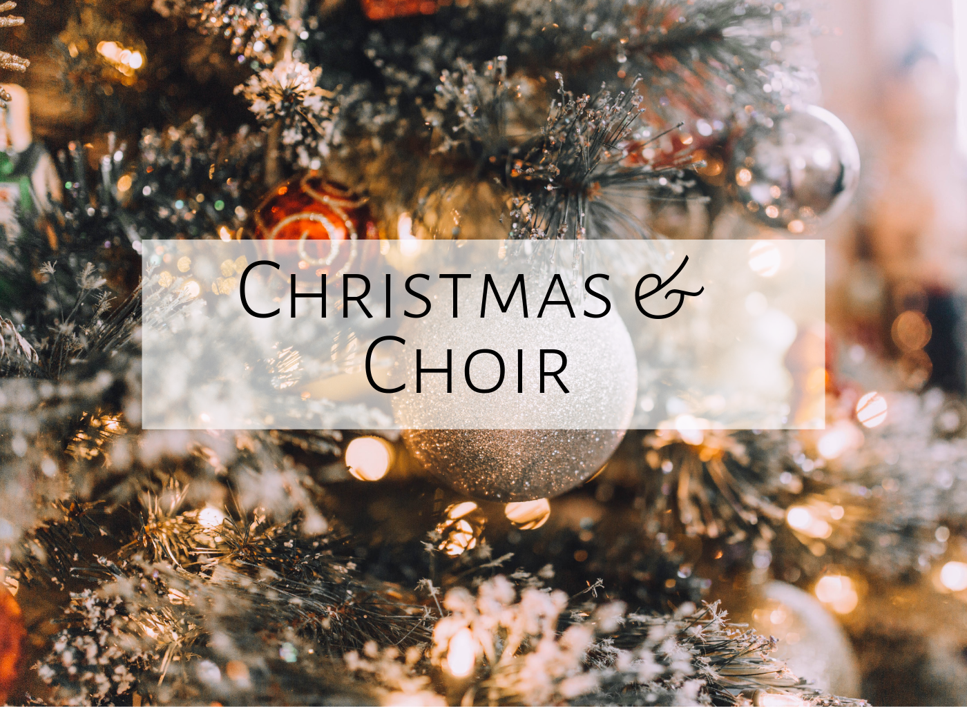 Choir Songs for Christmas | Mrs  Miracle's Music Room