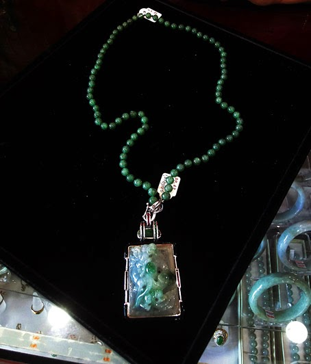 Buying a Imperial Jade Necklace