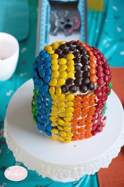 Regenbogenkuchen - Basti's Geburtstagstorte