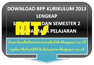 RPP Akidah Akhlak Mts Kelas 9 Kurikulum 2013 Semester 1 dan 2