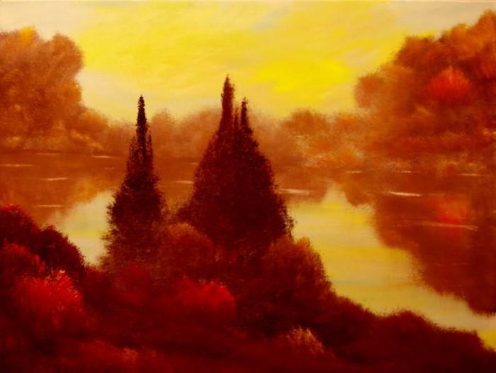 Абстрактные пейзажи. David Snider