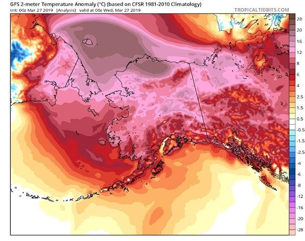 SORPRENDENTE: ALASKA SE DERRITE.