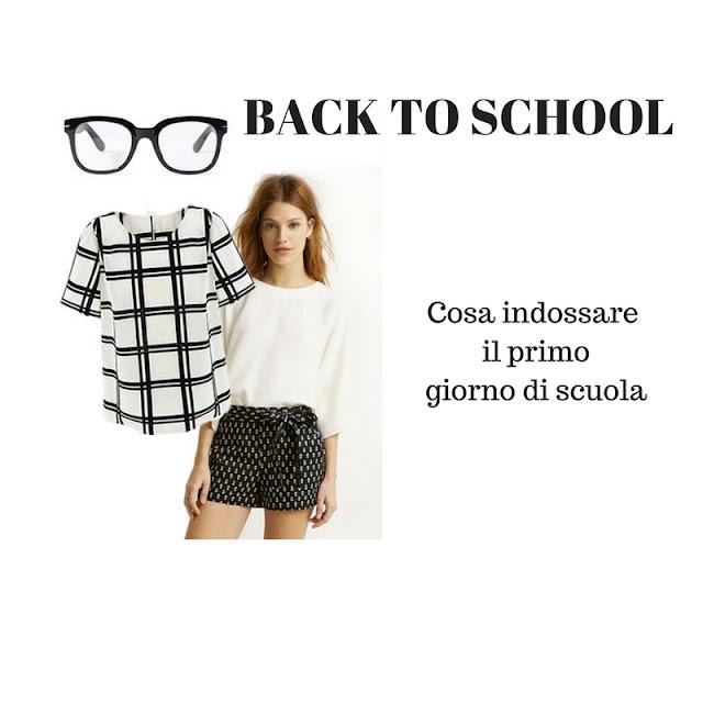 back to school cosa indossare il primo giorno di scuola fashion moda mariafelicia magno fashion blogger