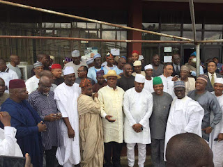 Former PDP House Of Rep Members Pays Visit To Ahmed Maikarfi 2