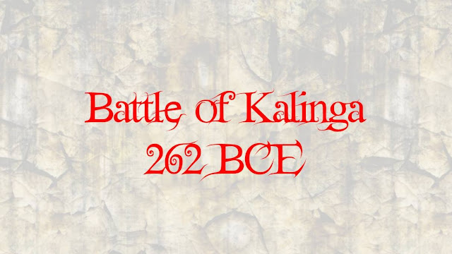 The Kalinga War was one of the major and bloodiest battles ever fought in Indian History. The war was fought between Ashoka the great Mauryan Emperor, and Raja Anantha Padmanabhan of Kalinga in 262 BCE