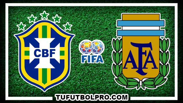 Ver Brasil vs Argentina EN VIVO Por Internet Hoy 10 de Noviembre 2016
