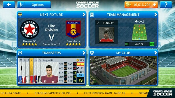 Cheat Uang Dream League Soccer
