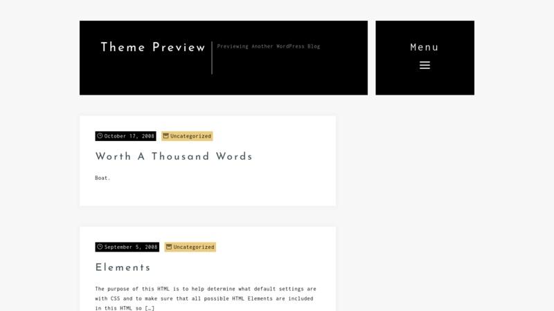 Rikke New Free Wordpress Theme