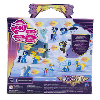 MLP Wonderbolts Cloudsdale Mini Collection