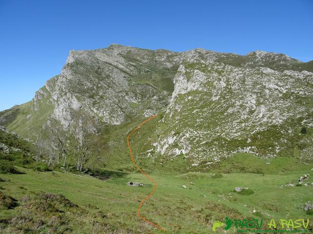 Ruta al Pierzu desde Priesca: Salvando peñasco para tomar el Sedo Espina