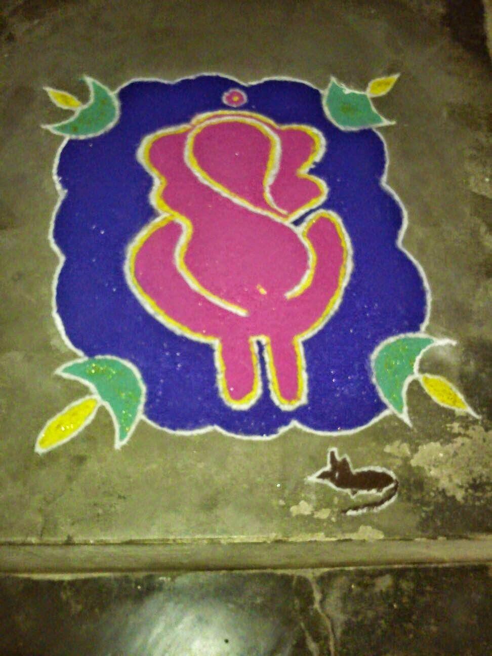 ganesha images for rangoli - photo #39