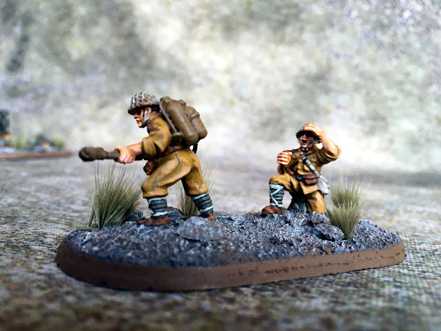 Warlord Games 28mm Japanese Flamethrower for Bolt Action