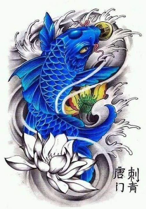 80 Diseños Para Tatuajes De Carpas Y Que Significan Belagoria La