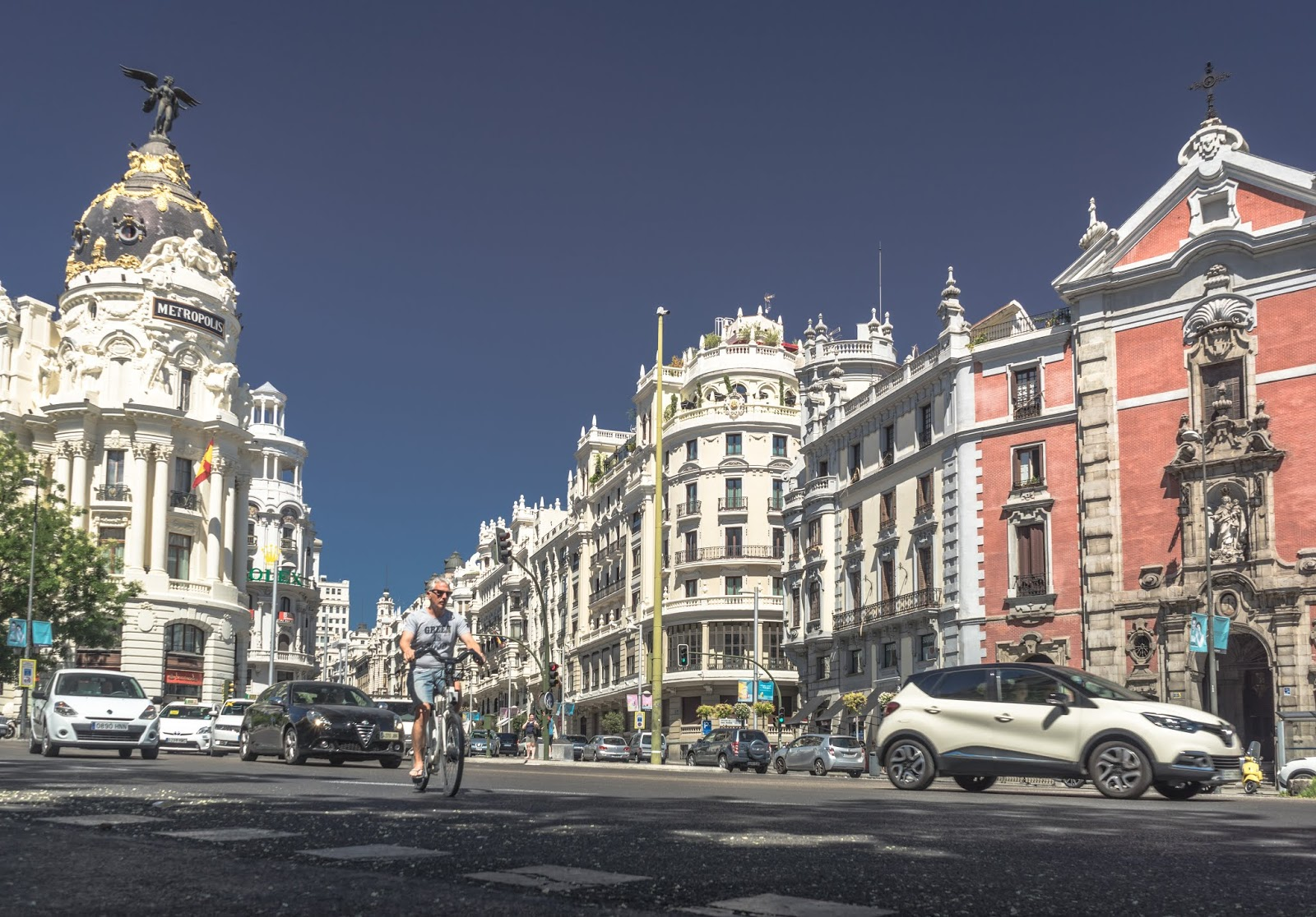 Madrid, city, architecture, Spain