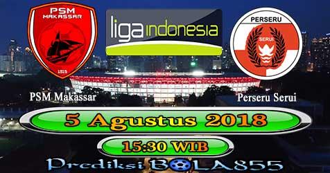 Prediksi Bola855 PSM Makassar vs Perseru Serui 5 Agustus 2018