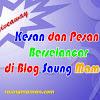 Giveaway - Kesan dan Pesan Berselancar di Blog Saung Maman