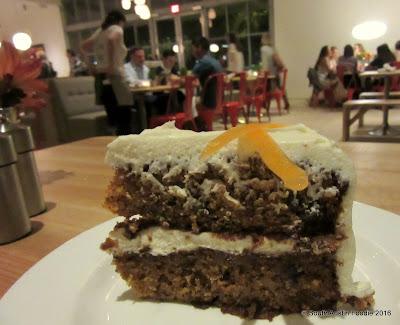 Vinaigrette Austin  -- carrot cake