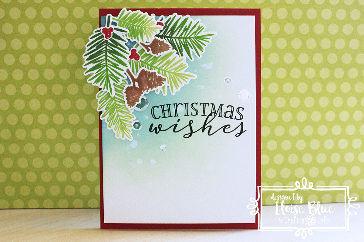 ella's cards: craftie cafe - christmas wishes (video)