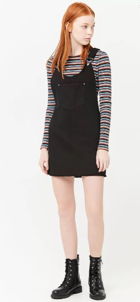 black overalls dress - Forever 21 dresses I want 90s fashion 90s outfit