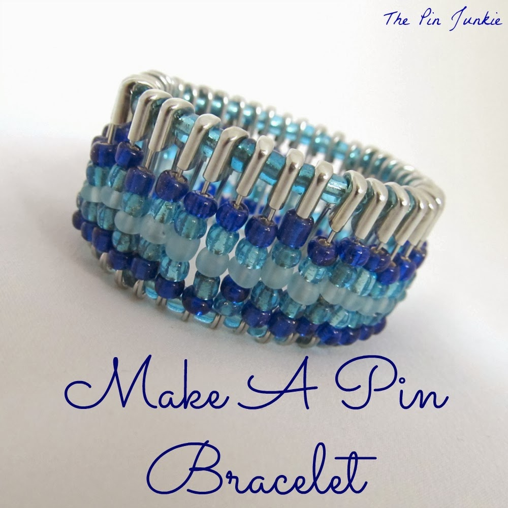 beaded-pin-bracelet diy
