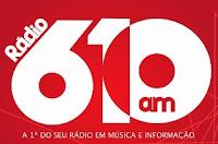 Assista e ouça o estúdio ao vivo da Rádio 610 AM de Luziânia