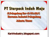 Lowongan Kerja PT Starpack Indah Maju Jakarta Pulogadung Terbaru - CDC Karir