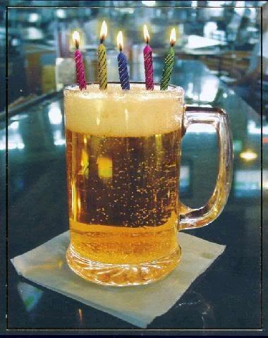 cerveza cumpleaños