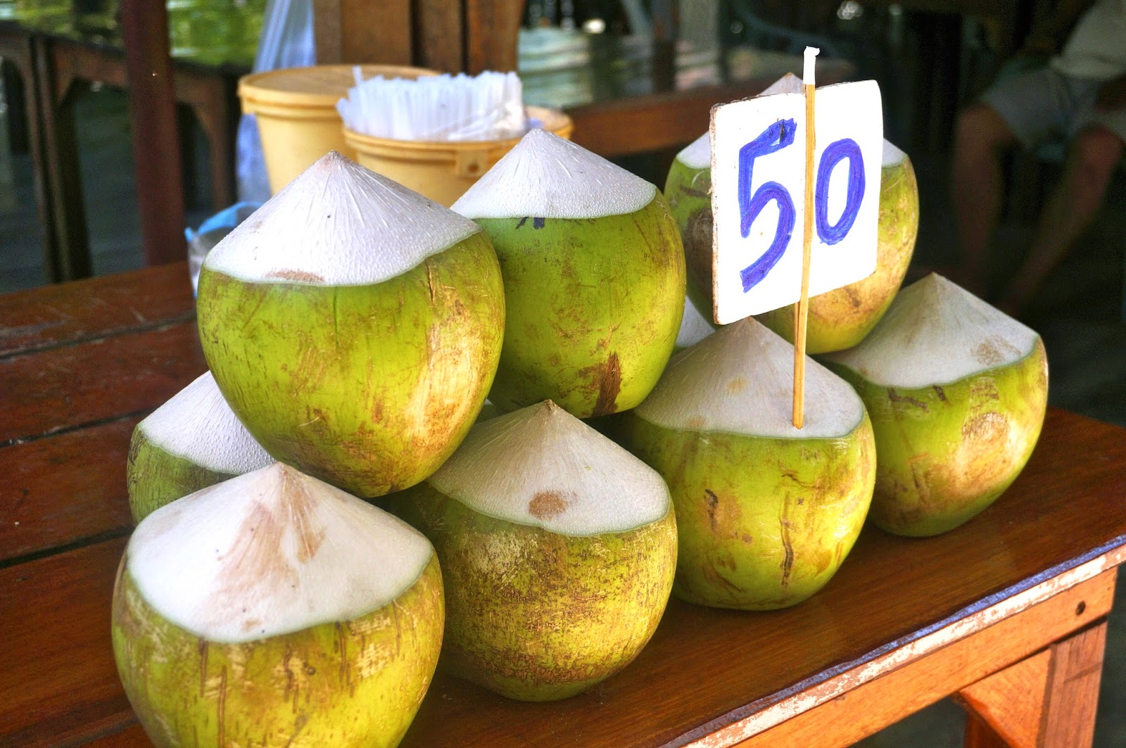 coconuts in thailand