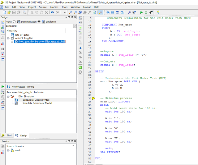 The Answer Is 42 Using Components In Vhdl